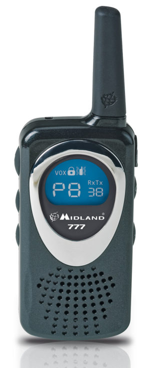 Midland 777 Ricetrasmittente Dual Band PMR/LPD