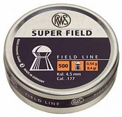 RWS Super Field  4,5/177 gr 0,45-500pz
