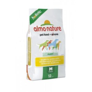 Almo Nature Holistic Puppy Medium c\pollo Kg 12
