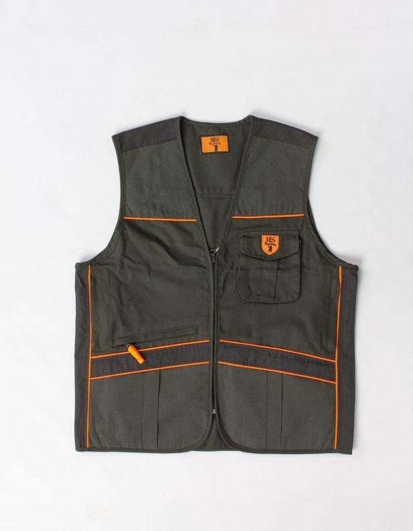 RS Gilet Canvas + Kevlar/orange